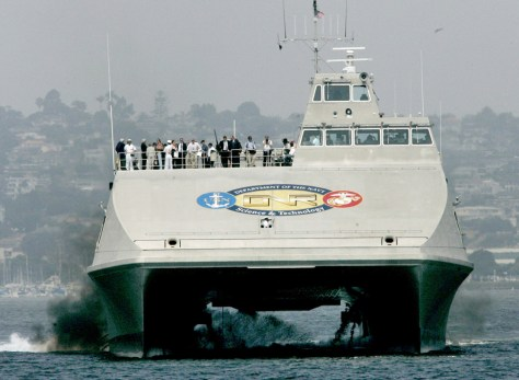 Image: Navy Sea Fighter catamaran