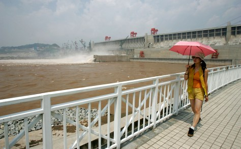 Three Gorges Dam Opens To Public