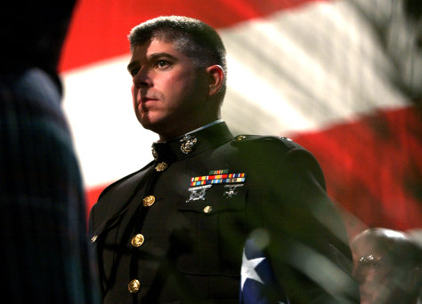 Image: Memorial service honors Ohio Marines killed in Iraq.