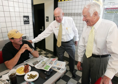 Image: Waffle House co-founders