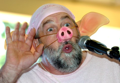 Image: Pig Squealing Festival