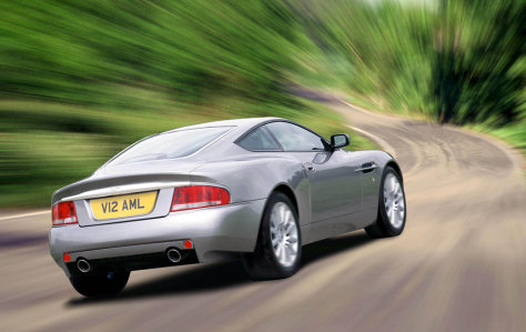 Image: Aston Martin V12 Vanquish