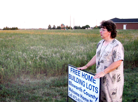 IMAGE: Land giveaway in Kansas