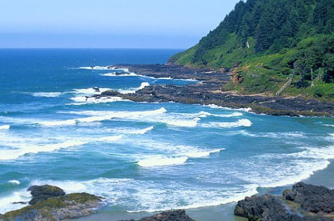 IMAGE: OREGON COASTLINE