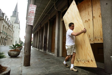 Gulf Coast Braces For Hurricane Katrina