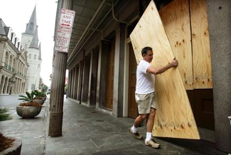 Gulf Coast Braces For Hurricane Katrina