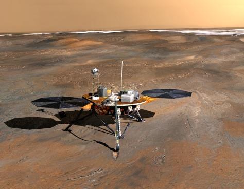 Image: Phoenix lander