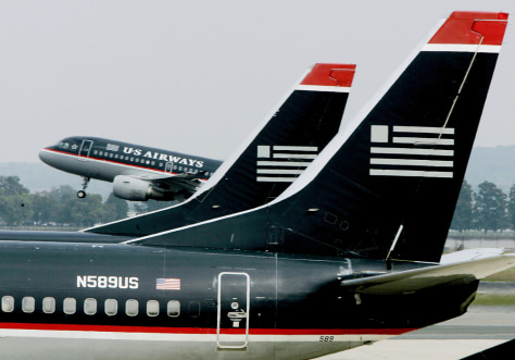 US Airways files for bankruptcy protection for second time in two years