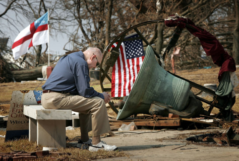 Conditions Remain Grim In Aftermath Of Katrina