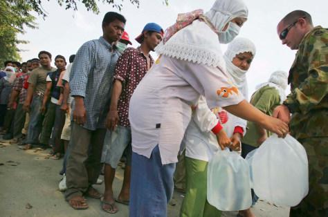 Image: Banda Aceh, Indonesia, tsunami relief