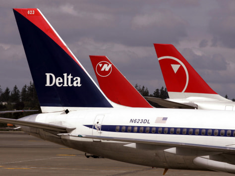 Delta, Northwest file for bankruptcy protection - Business