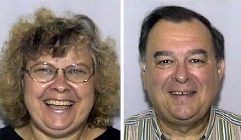 Florida couple accused of abusing children in their custody are seen in police handout photos