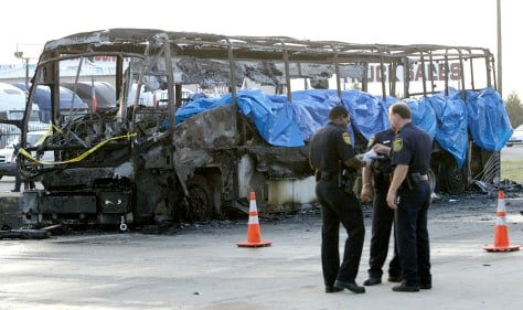 Image: Bus explosion