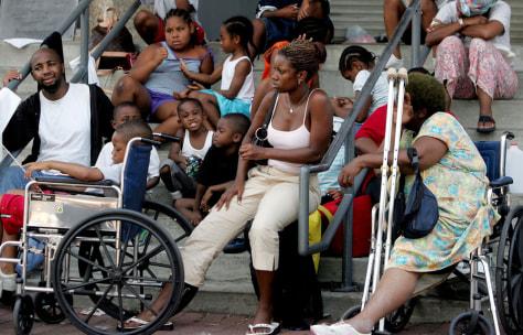 Image: Katrina victims
