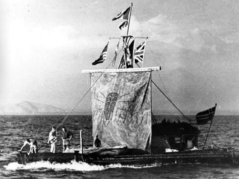 Image: Kon-Tiki in 1947