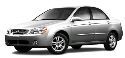 Image: Kia LD Spectra sedan