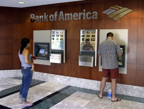 Image: Bank of America customers