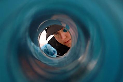 Image: Monitoring ice-coring tool