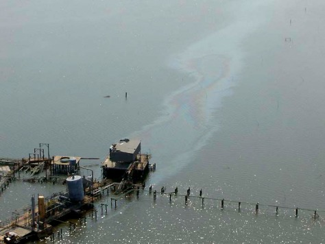 IMAGE: OIL SPILL IN LOUISIANA