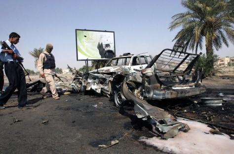 Image: Iraqi checkpoint