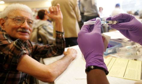 New York Seniors Get Free Flu Shots
