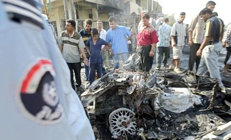 Image: Suicide car bomb