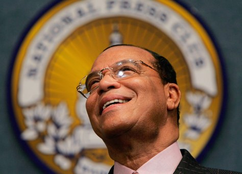 Louis Farrakhan Holds Press Conference