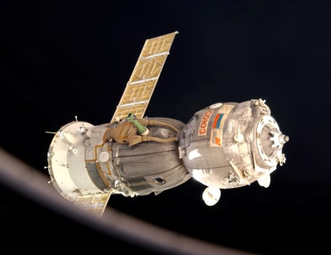 Image: Soyuz in space