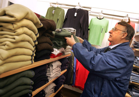 Fall Clothing Spending Drives October Sales Increase