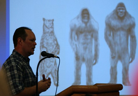 Image: Texas Bigfoot convention