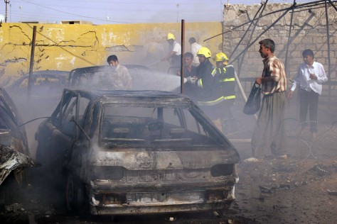 Image: Car bomb attack