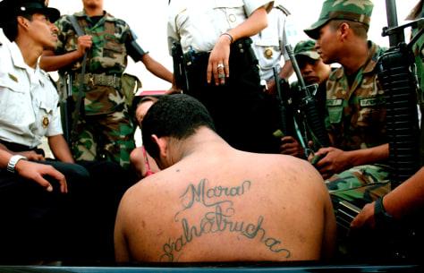 Image: Gang member