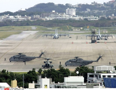 IMAGE: U.S. airfield on Okinawa, Japan