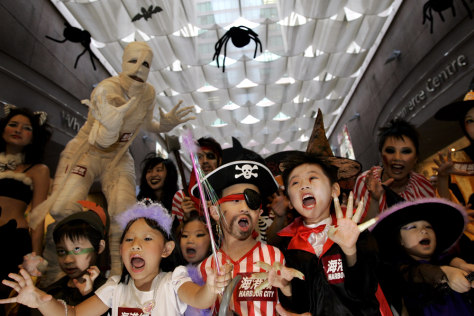 Image: Halloween in Hong Kong