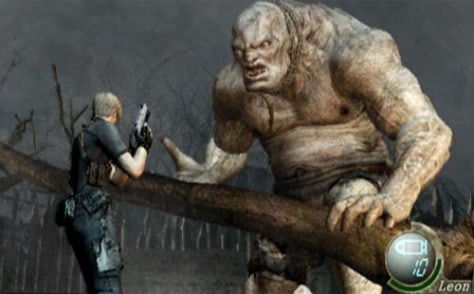 "screenshot from ""Resident Evil 4."""