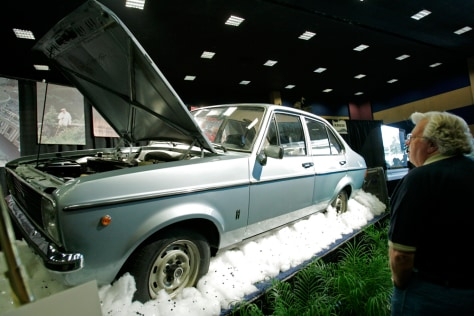Image: Pope John Paul II's Ford Escort