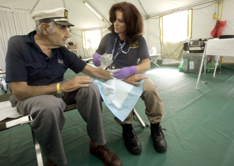 Image: Florida medical tent