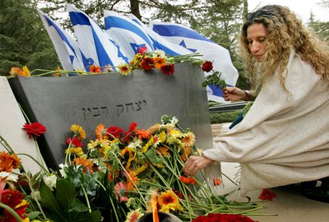 Image: Yitzhak Rabin memorial