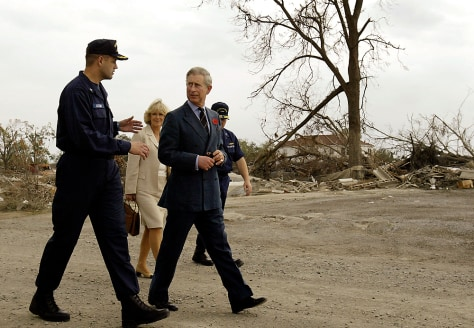 Image: Charles, Camilla in New Orleans