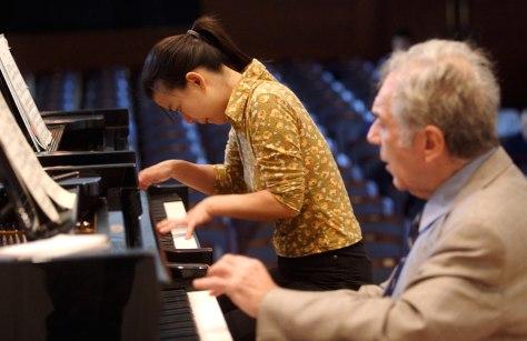 Image: Yale music student