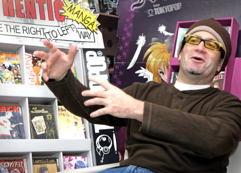 Image: Stuart Levy of TOKYOPOP Inc.