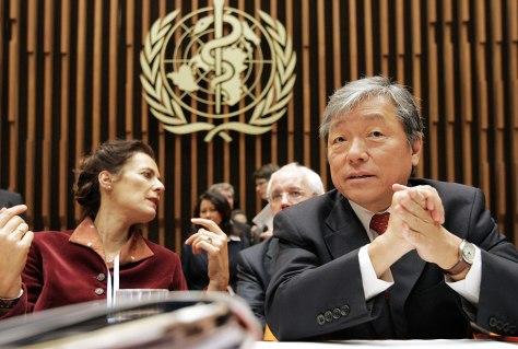 World Health Organization (WHO) Director
