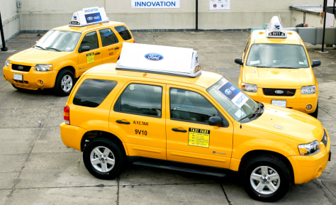IMAGE: HYBRID TAXIS