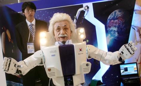 """Albert Hubo"" robot"