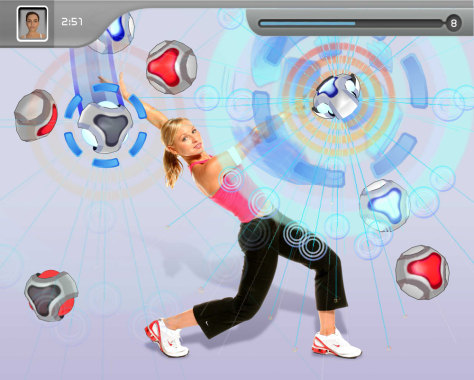"""EyeToy: Kinetic"" screenshot"
