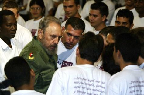 IMAGE: Cuban President Fidel Castro