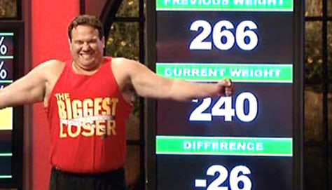 MATT ON BIGGEST LOSER
