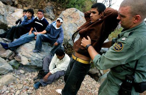Image: California border
