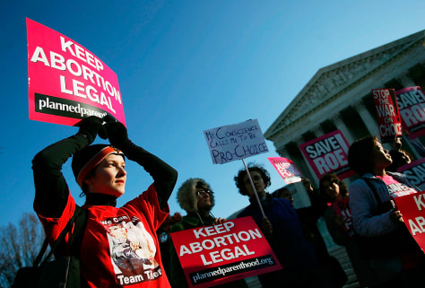 Activists Rally As Supreme Court Hears Abortion Cases