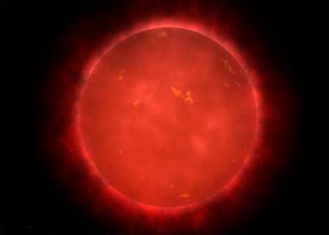 Image: Red dwarf